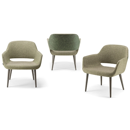 Magda Lounge Chair Telegraph Contract Furniture