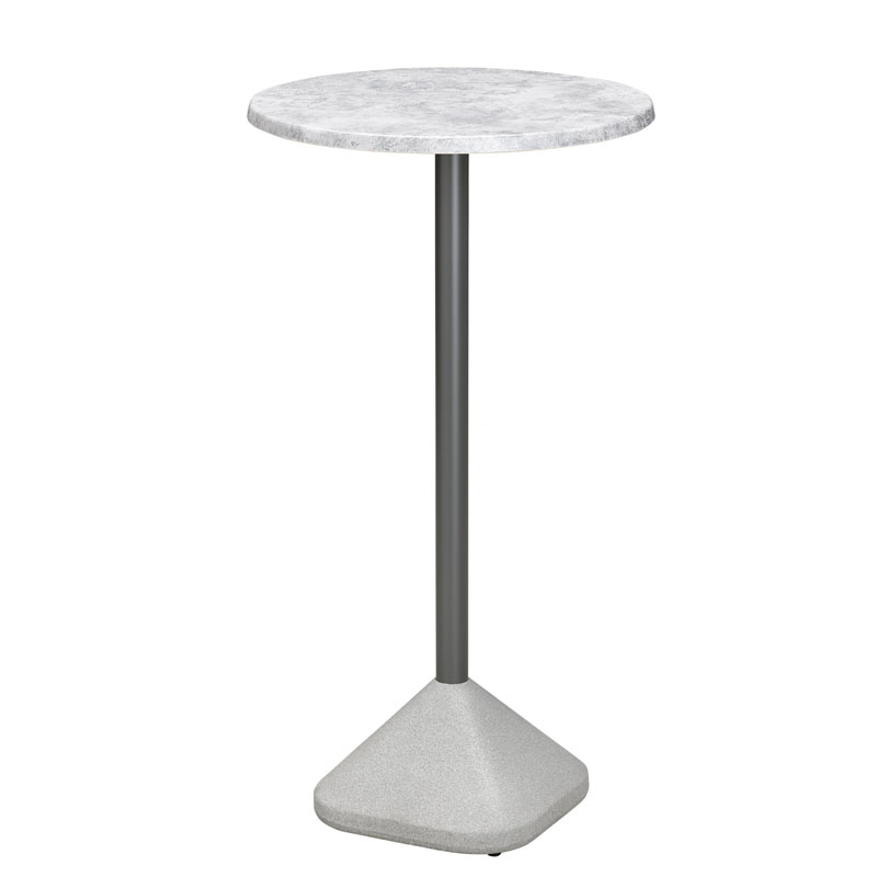 Concrete Poseur Table Base Telegraph Contract Furniture : Concrete Poseur Base with Marble from www.telegraphcontractfurniture.com size 800 x 800 jpeg 21kB