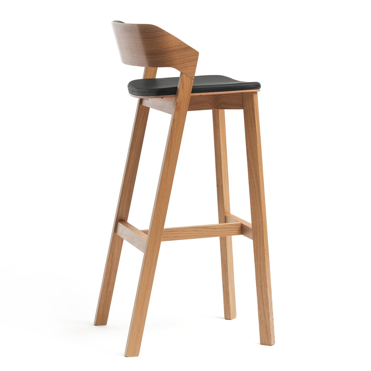 Merano High Stool Upholstered Telegraph Contract Furniture