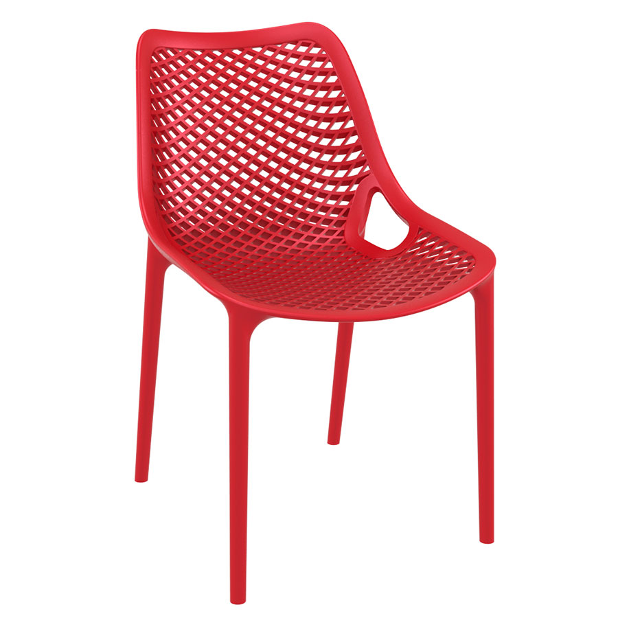 Basket Red - Orio Outdoor Chair - Telegraph Contract Furniture