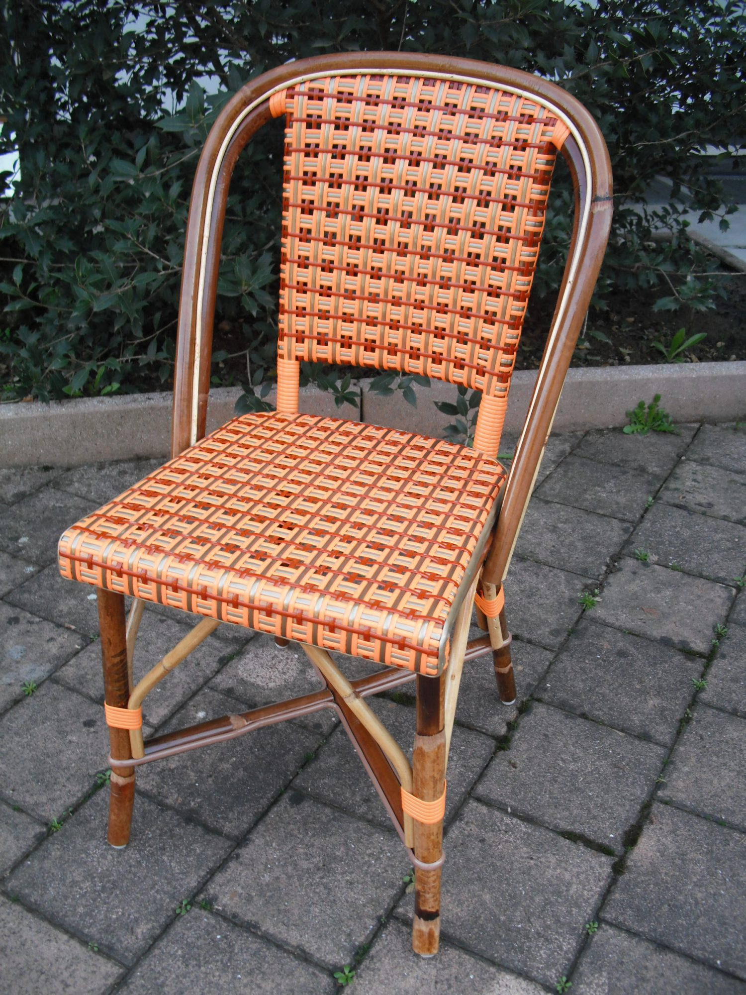 Bistro rattan side chair telegraph contract furniture - Cane bistro chairs ...