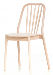 Aldgate side chair, beech, raw