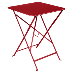 Bistro_Table 57x57_COQUELICOT
