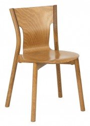 Tooting side chair, veneer seat