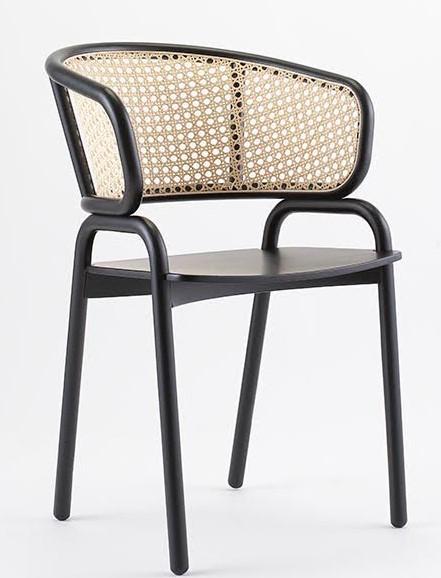 Frantz Armchair Cane Telegraph Contract Furniture