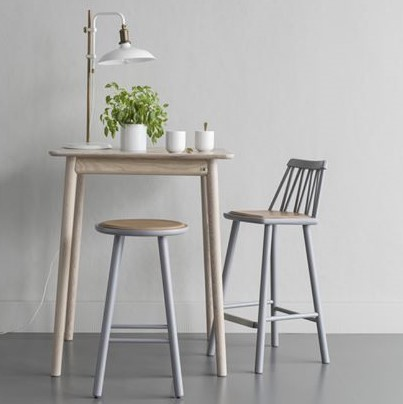 Zig Zag Mid High Stool Telegraph Contract Furniture