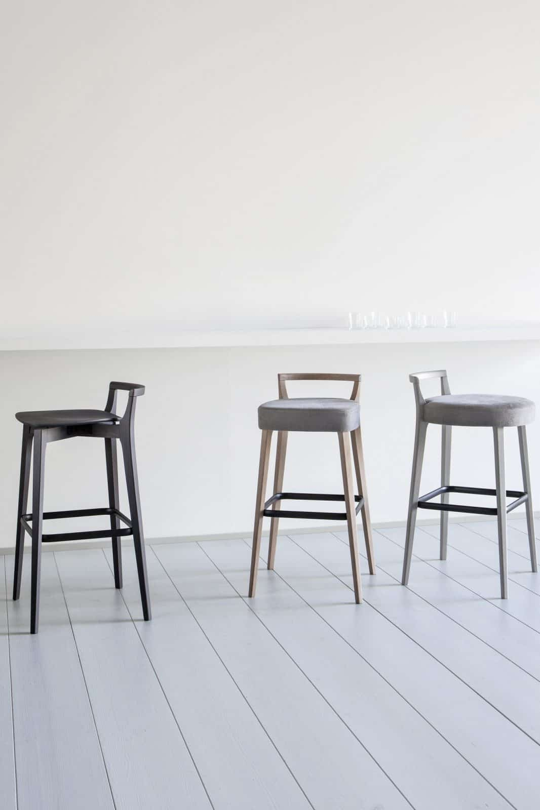 Metro High Stool Upholstered Telegraph Contract Furniture