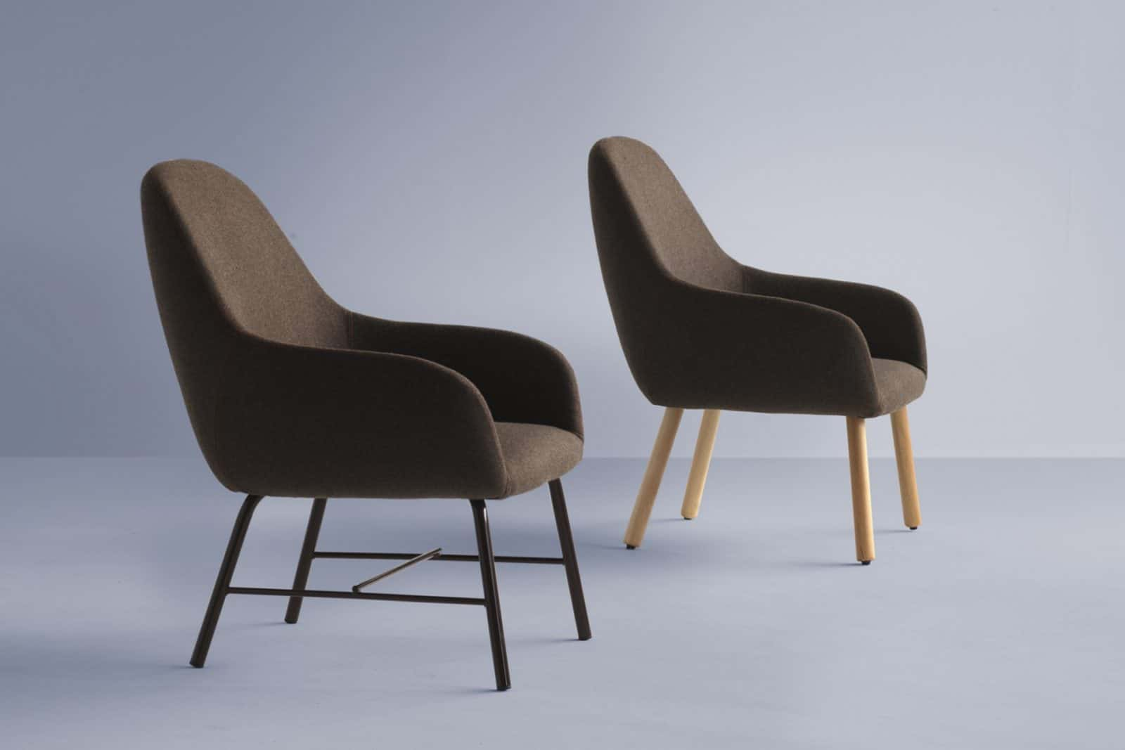 Myra lounge chair wooden telegraph contract furniture