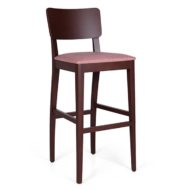 Basil contract furniture high stool front view