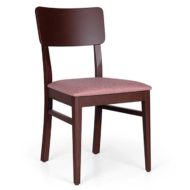 Basil contract furniture side chair front view