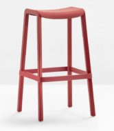 Dome contract furniture high stool side view