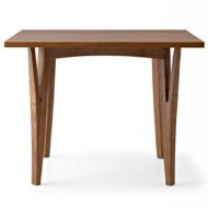 Moraar contract furniture table wood frame with four legs