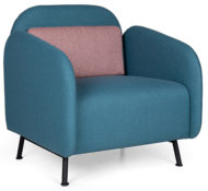 B connect Contract Furniture with Metal Legs